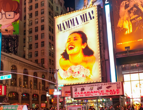 Times Square and theater district billboards, USA ©iStock